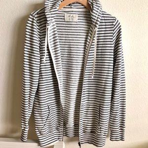 Madewell | striped hoodie